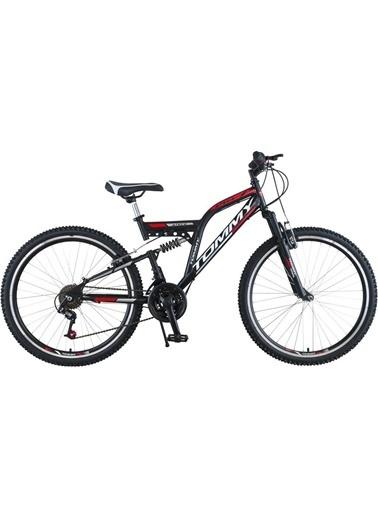 Tommy Bike 26 Double Jant 21 Vitesli Çift Amortisörlü Dağ Bisikleti New Kırmızı